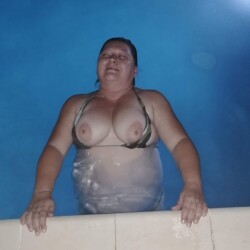 Medium tits of my wife - Kathrin