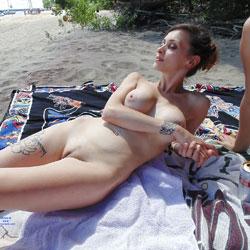 Nude At Oka Beach - Nude Girls, Beach, Big Tits, Outdoors, Bush Or Hairy, Beach Voyeur