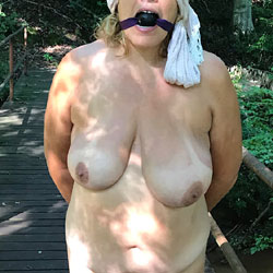 Tied Up Wife - Nude Wives, Big Tits, Mature, Outdoors, Amateur