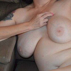 Very large tits of my girlfriend - Former Playboy centerfold