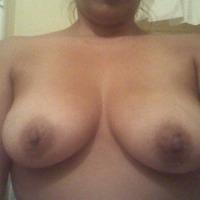 Medium tits of a neighbor - Liz