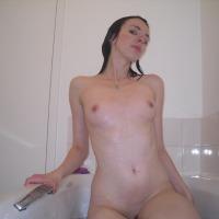 Very small tits of my girlfriend - sammi