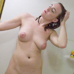 Getting Ready - Nude Amateurs, Big Tits, Brunette, Mature, Bush Or Hairy, Amateur