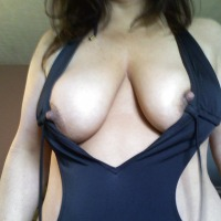 Large tits of my wife - amh
