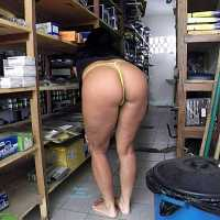 Selma Brasil: Auto Parts in Maceio City - Latina, Public Place, Big Ass