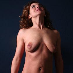 Studio Artwork - Big Tits, Brunette Hair, Mature, Shaved, Nude Amateur, Amateur