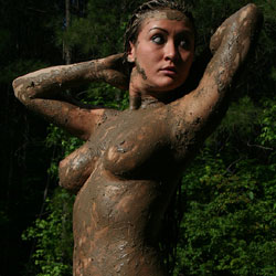 Pond - Big Tits, Brunette Hair, Nude Outdoors, Naked Girl, Amateur