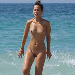 More Beach Tennis - Nude Girls, Beach, Brunette, Outdoors, Bush Or Hairy, Amateur, Medium Tits