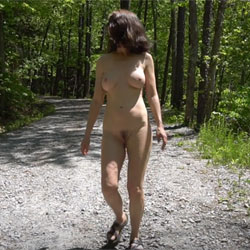 Ecstasy By The River - Nude Girls, Big Tits, Brunette, Outdoors, Nature, Bush Or Hairy, Amateur