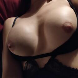 Medium tits of my wife - Eli....