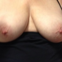 Large tits of my wife - Peek a Boos tits