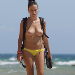Beach Panorama - Amateur, Beach, Beach Pussy, Beautiful Ass, Big Tits, Natural Tits, Pussy, Shaved