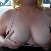 Large tits of a co-worker - Cheri
