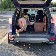 Making Room - Bent Over, Big Ass, Outdoors