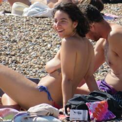 Beach Candids Brighton England Summer 2021 - Beach, Beach Pussy, Big Tits, Bikini Voyeur, Blonde, Brunette, Hanging Tits, Medium Tits, Natural Tits, Outdoors, Public Exhibitionist, Public Place, Topless Amateurs, Topless Girlfriends, Topless Girls, Young Woman