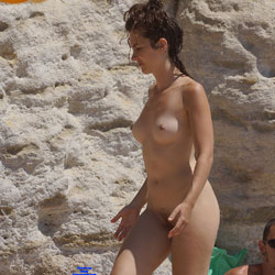 Curly Beauty - Amateur, Beach, Beach Pussy, Beach Voyeur, Beautiful Ass, Bent Over, Brunette, Hard Nipples, Natural Tits, Nude Amateurs, Nude Girls, Outdoors, Perky Boobs, Public Exhibitionist, Public Place, Pussy, Pussy Hair, Small Tits, Young Woman