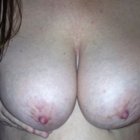 Large tits of my wife - Peek a Boos