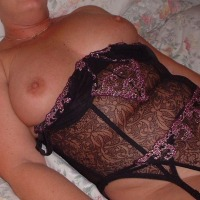 Large tits of my wife - Carol