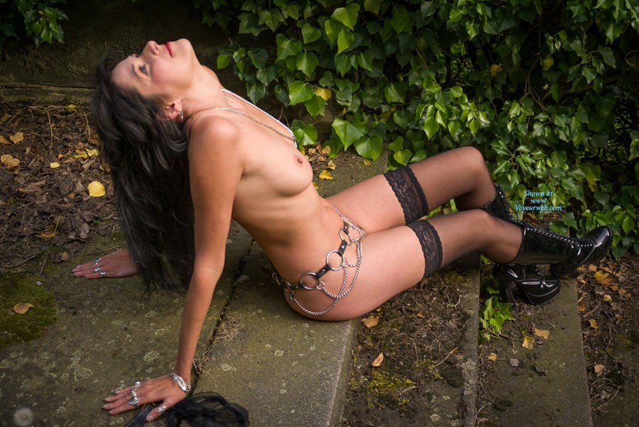 Pic #8 Stair - Brunette, Lingerie, Outdoors