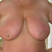 Very large tits of my wife - Deb