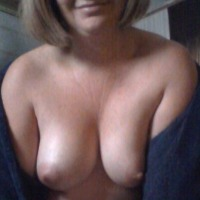 Medium tits of my girlfriend