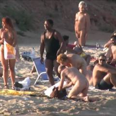 Barcelona Beach Exhibitionist - Beach, Public Exhibitionist