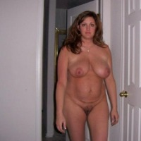 Very large tits of a neighbor - Christine