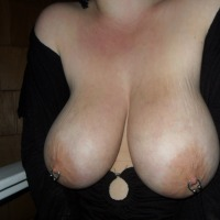 Very large tits of my wife - SexyG