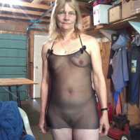 In The Garage - Lingerie, Mature