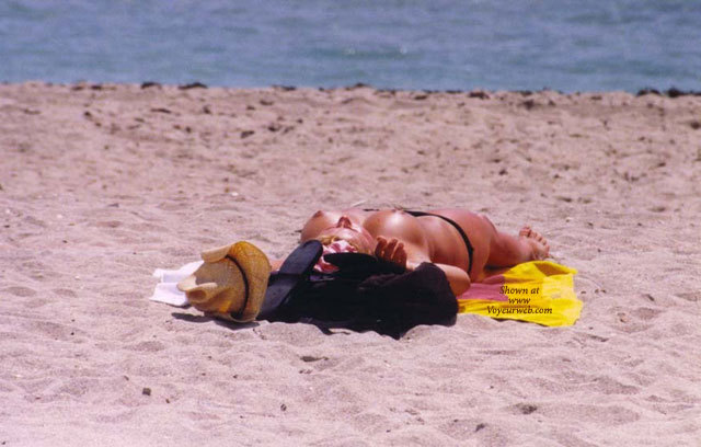 Pic #1 - Topless Tanning - Topless Beach, Topless, Beach Voyeur , Topless Tanning On Beach, Breasts On The Beach, Beach Voyeur Shot, Toppless Beach, Tanned On Beach, Lying On The Beach, Large Round Tits, Sun Baked Tits, Round Breasts, Laying On Beach Topless And Hatless, Topless Sunbather On Sandstone Beach