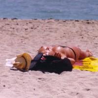 Topless Tanning - Topless Beach, Topless, Beach Voyeur