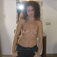 Small tits of my wife - Fro