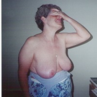 Very large tits of my wife - helene