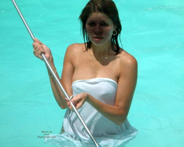 Pic #3 - Marie Decides To Go Skinny Dipping!