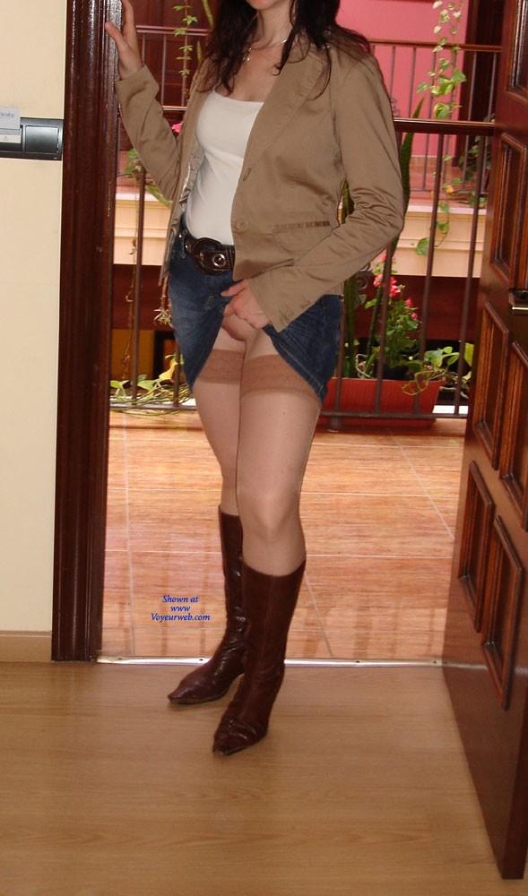 Pic #6 No Pantys - Dressed, Striptease