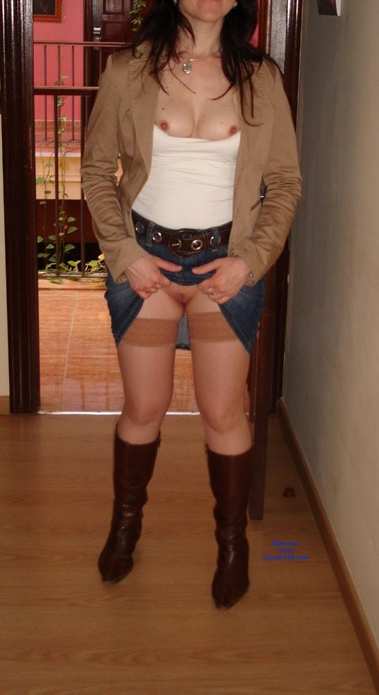 Pic #8 No Pantys - Dressed, Striptease