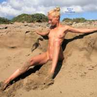 Desert Beach - Blonde Hair, Beach Voyeur