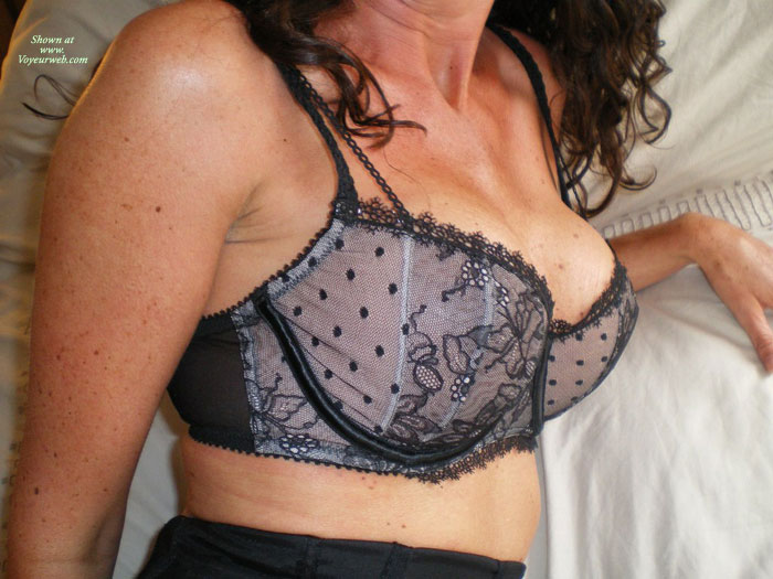 Pic #1 - Wife In Undewear , Ann Loves Wearing Sexy Lingerie And Showing It Off In Public For All To See
