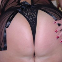 Hot 60 Year Old Wife In Black