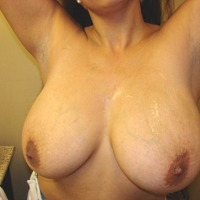 My extremely large tits - Christel