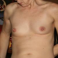 My very small tits - cari