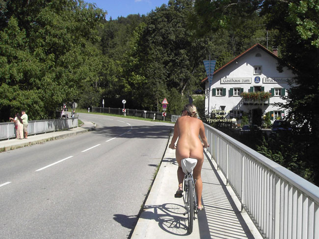 Pic #1 - Nude Bike Riding - Exhibitionist, Nude In Public, Naked Girl, Nude Amateur , Naked Bicycle Ride, Nude Biking, Naked Sightseeing, Nude Leisurely Cyle, Riding A Bike Nude, Feeling Free On A Bike, Pedaling Her Ass All Over Town
