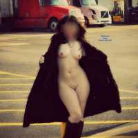 The Town Flasher ;-) - Public Exhibitionist, Public Place
