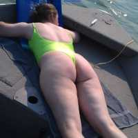 On The Boat 6 - Bikini Voyeur, Outdoors, Big Ass