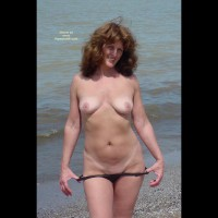 Nude Outdoors - Medium Breasts, Nude Outdoors, Red Hair, Tan Lines, Topless Outdoors