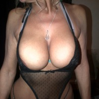 Very large tits of my wife - Milf