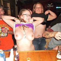 Life as a Bartender Part 1 - Public Exhibitionist, Public Place