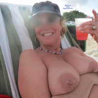 Suzy,  At The Beach - Beach, Big Tits