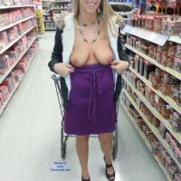 Fun @ WalMart - Blonde, Public Exhibitionist, Public Place