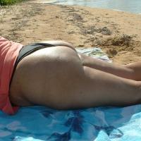 My girlfriend's ass - Boricua